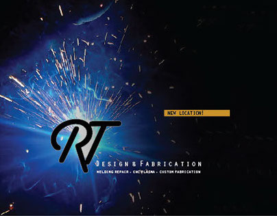 RT Design and Fabrication Branding
