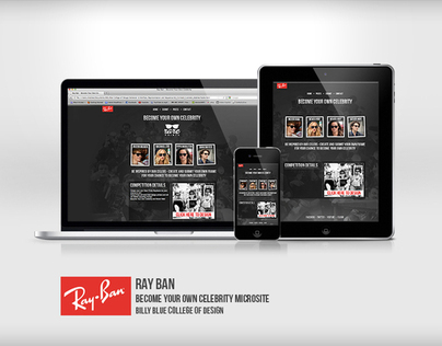 Ray Ban - Become Your Own Celebrity