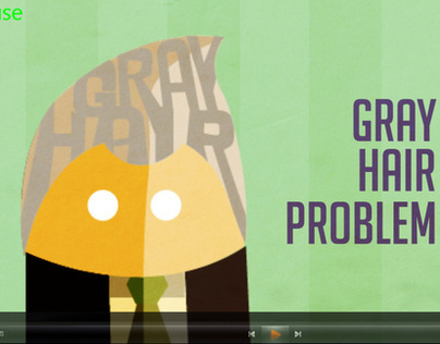 Motion Graphics- Gray Hair