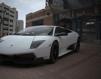 CGI CARS TEST RENDERS