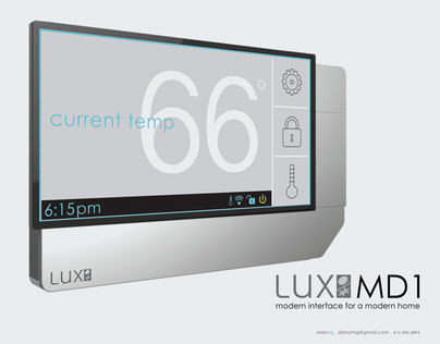 LUX MD1 . Modern Interface for a Modern Home