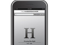 iphone application // The Haberdasher