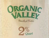 Organic Valley Milk Label