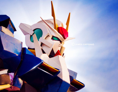 GUNDAM MOBILE SUITE (cosplay)