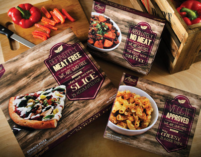 AMYS FROZEN FOOD | Product Rebrand