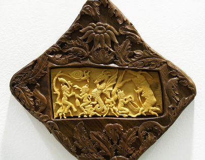 Panove  Wall Art, Wood Carving
