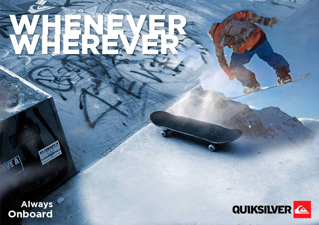 Wherever You Will Go // QUIKSILVER
