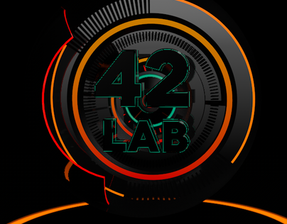 42 Lab Logo 3D