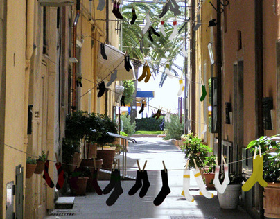 Street of Socks