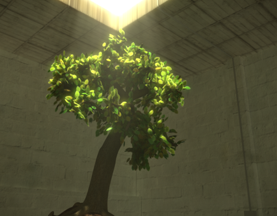 Procedural Tree MEL + Pixars Renderman
