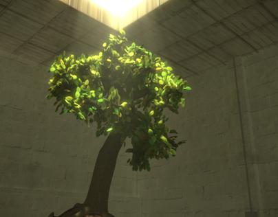 Procedural Tree MEL + Pixars Renderman
