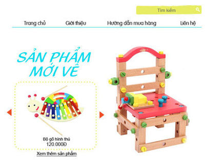Toy web design