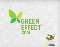 Sunchips Green Effect - Butterflies