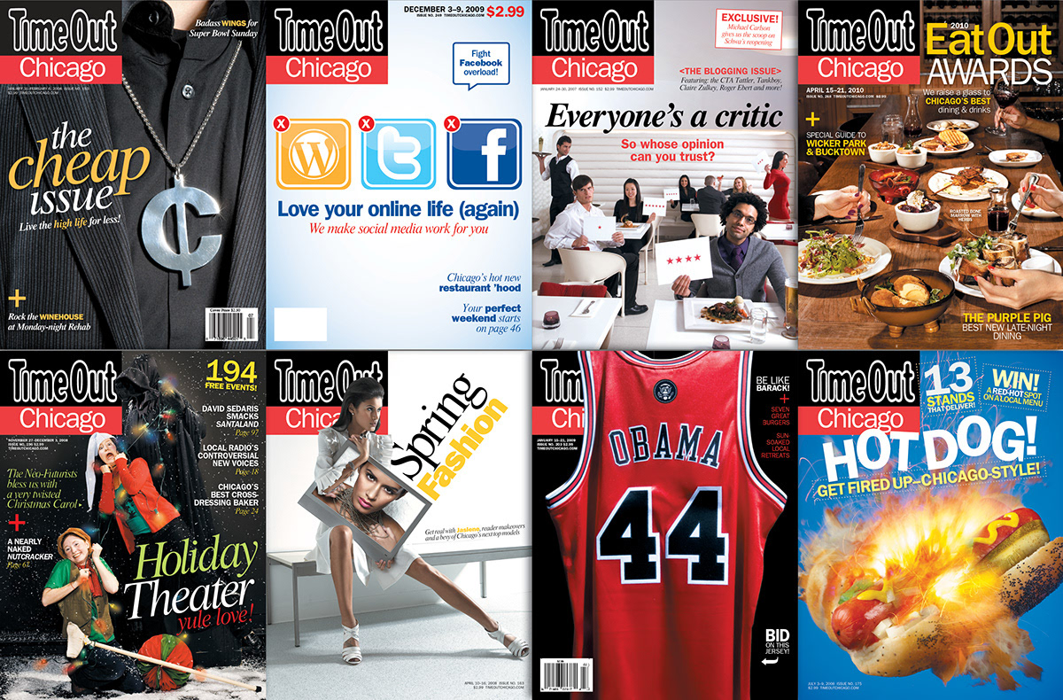 TimeOut Chicago Covers