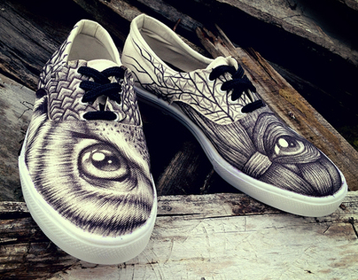 VltraBlack, custom shoes