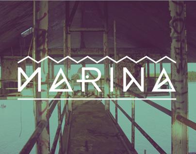 Marina Typeface