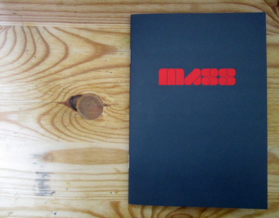 MASS typeface sample book