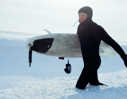 Surfing in Winter