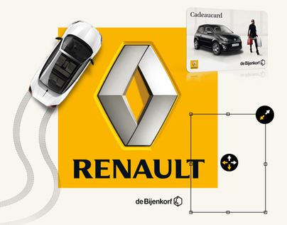Renault Facebook application