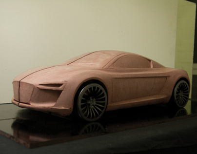 Audi Etron - Clay Model - IN PROGRESS