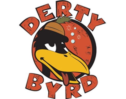 Derty Byrd Logo Design