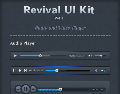 Revival UI Kit (Vol 2)