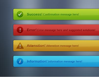 Adroit Notification Message