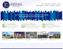 Kansas City Structural Steel Brand and Web