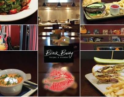 Black Betty Burger + Winebar ad