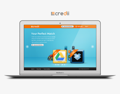 Credii Marketing Site