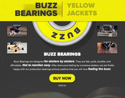 Buzz Bearings Website