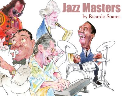 Jazz Masters Caricatures