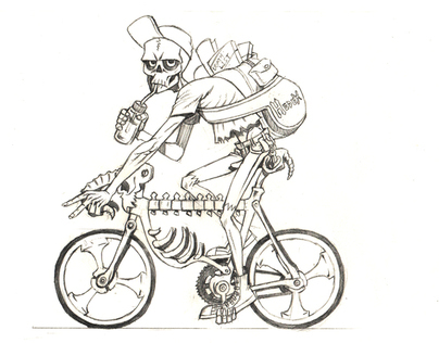 Hell's Bike Messenger