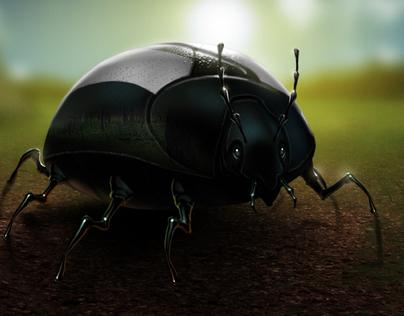VW Black Beetle 2011 Superbowl Concept illustrations