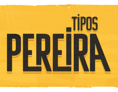Tipos Pereira Lettering