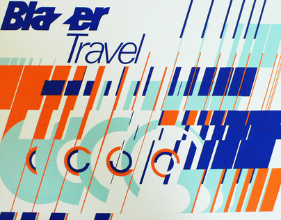 Blazer Travel Poster
