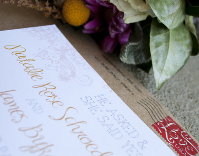 Wedding Design & Invitations