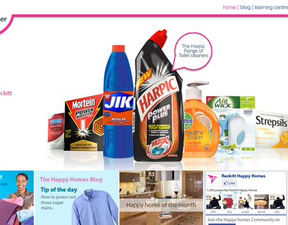 Reckitt Benckiser - Happy Homes
