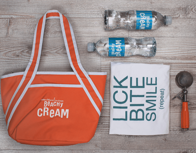 Beachy Cream Branding