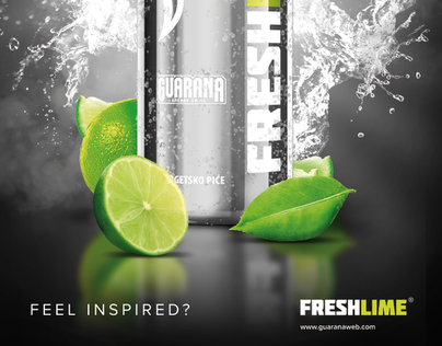 GUARANA FRESH LIME brand developement, launch