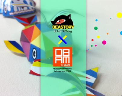08AM X BEASTORY Collaboration art_2012 Bicof 15th