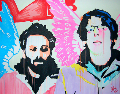 Live Paintings - The Black Keys Tour