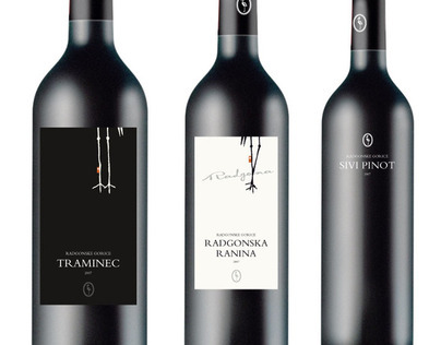 Wine labels for Radgonske Gorice