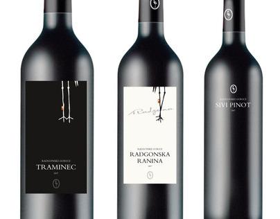 Wine labels for Radgonske Gorice
