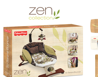 Fisher-Price Zen Collection Logo & Packaging