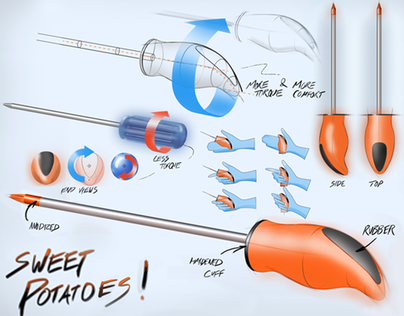 Sweet Potatoes! - Screwdriver concept