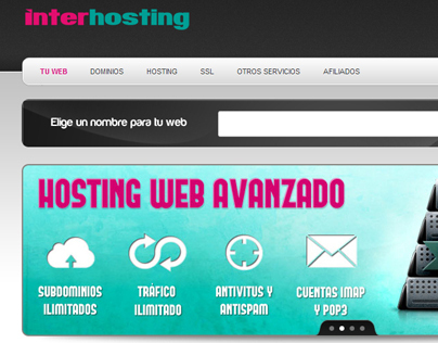 InterHosting Web Site