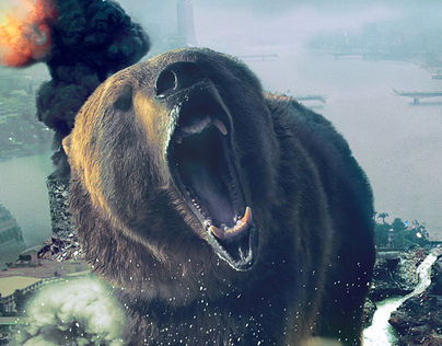 The Bear attacks Cairo city.