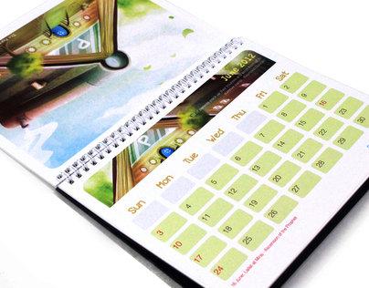 Storybook World / papercaptain Calendar 2012