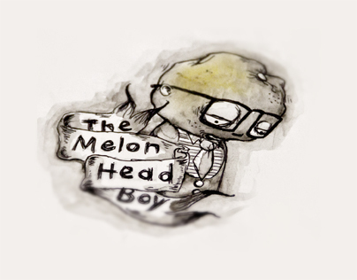 MelonHead boy illustration